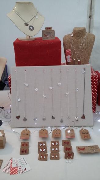 The Little Red Hen Jewellery display pinned board
