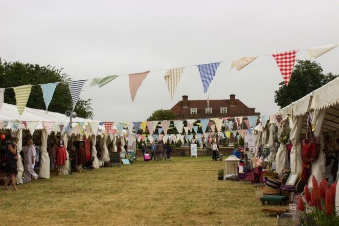 Wealden Times Midsummer Fair Visit redhenjewellery