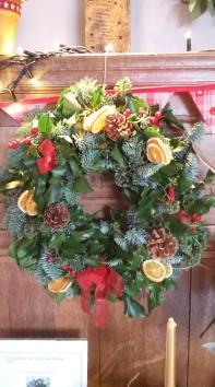 Ginko Floristry's Festive Wreath