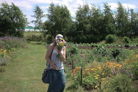 Blooming Green local flower farm the little red hen jewellery blog